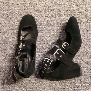 Rebecca Minkoff Mary Jean Buckle up Pumps. Sz 6M